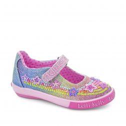 Pantofi fete Rainbow Stars Multi Glitter
