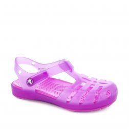 Sandale plaja fete Crocs Isabella Sandal PS Wild