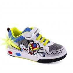 Pantofi Sport baieti Gregg A White Lime