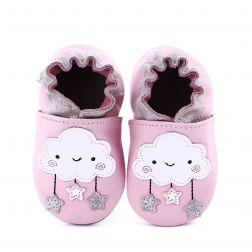 Pantofi bebelusi Miss Cloud Light Pink