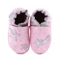 Pantofi bebelusi Night Star Light Pink