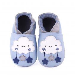 Pantofi bebelusi Mister Cloud light blue