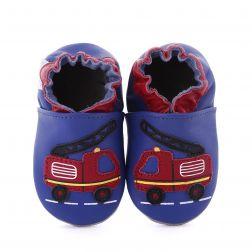 Pantofi bebelusi Firetruck Blue