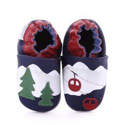 Pantofi bebelusi Mountain Trees navy