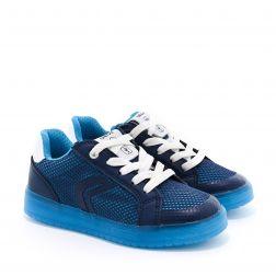 Pantofi Sport baieti Kommodor BA Navy LT Blue