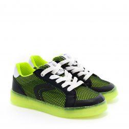 Pantofi Sport baieti Kommodor BA Black Lime