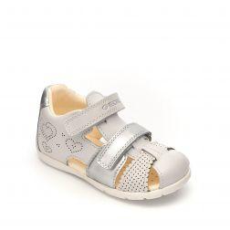Sandale fete Kaytan GC White Silver