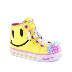 Tenisi fete Sparkle Smile Yellow