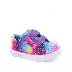 Tenisi fete Colorful Crochets Multi