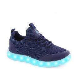 Pantofi Sport baieti Energy Lights Street Navy