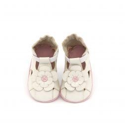 Pantofi bebelusi Pretty Pansy Blanc