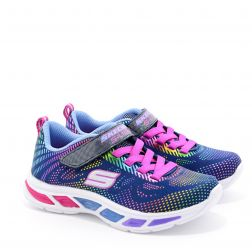 Pantofi Sport fete Litebeams Gleam N Dream Navy