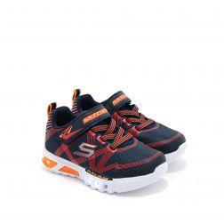 Pantofi Sport baieti Flex Glow N Navy Red