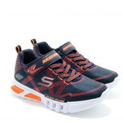 Pantofi Sport baieti Flex Glow L Navy Red