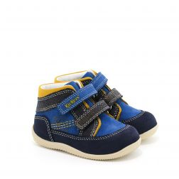 Pantofi baieti 691780 Bins Blue Jaune