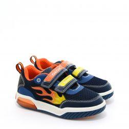 Pantofi Sport baieti Inek BC Navy Orange