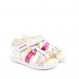 Sandale fete San Alul GA White Pink