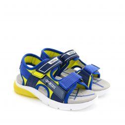 Sandale baieti Flexyper BC Navy Lime
