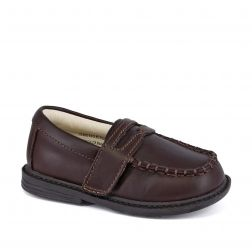 Pantofi baieti Daniel Dark Brown