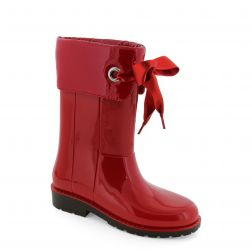 Cizme cauciuc fete Campera Rojo
