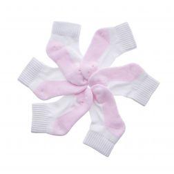 Sosete fete 31172 White Pink - Set 3