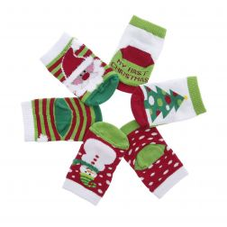 Sosete bebelusi 2380 Holiday Multi - Set 3