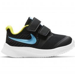Pantofi Sport Baieti AT1803 Star Runner 2 Black Blue