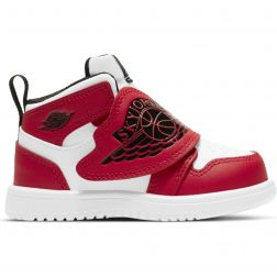 Ghete Baieti BQ7196 Sky Jordan White Red