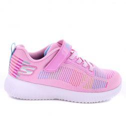 Pantofi Sport Fete Bobs Squad Fresh Delight Pink Multi