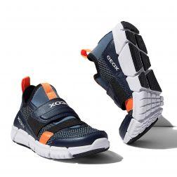 Pantofi Sport Baieti Flexyper B.C Navy Orangefluo