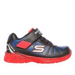 Pantofi sport Baieti Illumi Brights Tuff Truck Black Red N