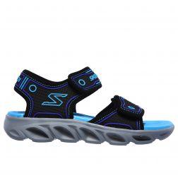 Sandale Baieti Hypno Splash L Black Turqoise