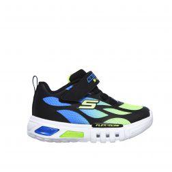 Pantofi Sport Baieti Flex Glow Blue Lime N