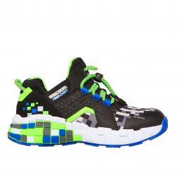 Pantofi Sport Baieti Mega Craft Cubozone Blue Lime