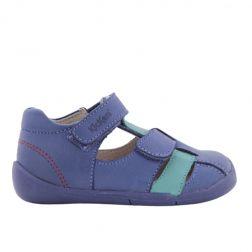 Sandale Baieti 858390 Wasabou Bleu Vert