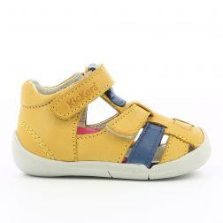 Sandale Baieti 858390 Wasabou Wasabou Jaune Bleu