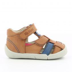 Sandale Baieti 858390 Wasabou Camel Bleu