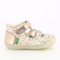 Sandale Fete 784846 Sushy Blanc Blossom