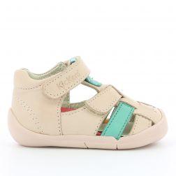 Sandale Fete 858390 Wasabou Rose Vert