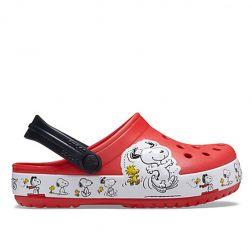 Sandale plaja copii Crocs FL Snoopy Woodstock Cg K Flame