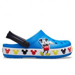 Sandale plaja Baieti Crocs Disney Mickey Mouse Bright Cobalt
