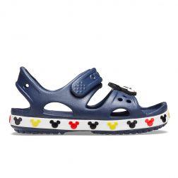 Sandale de plaja Baieti Crocs Disney Mickey Mouse Navy