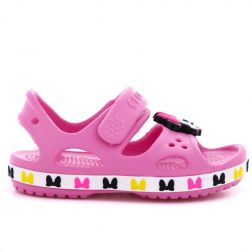 Sandale plaja Fete Crocs Disney Minnie Mouse Pink Lemonade