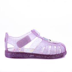 Sandale plaja Fete Tobby Unicornio Malva Glitter