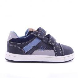Pantofi sport Baieti Trottola Navy Grey