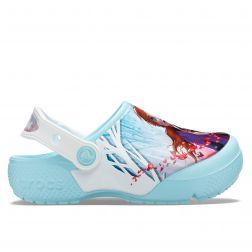 Crocs Sandale plaja Fete Crocsfl Ol Disney Frozen2 Cg K Ice Blue incaltaminte copii bigstep