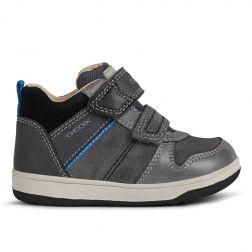 Pantofi sport baieti New Flick B.A Grey Black