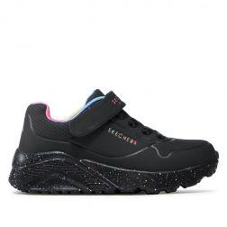 Pantofi sport fete Uno Lite Rainbow Specks Black