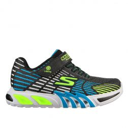 Pantofi sport baieti Flex Glow Elite Blue Lime L