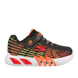 Pantofi sport baieti Flex Glow Elite Black Multi N